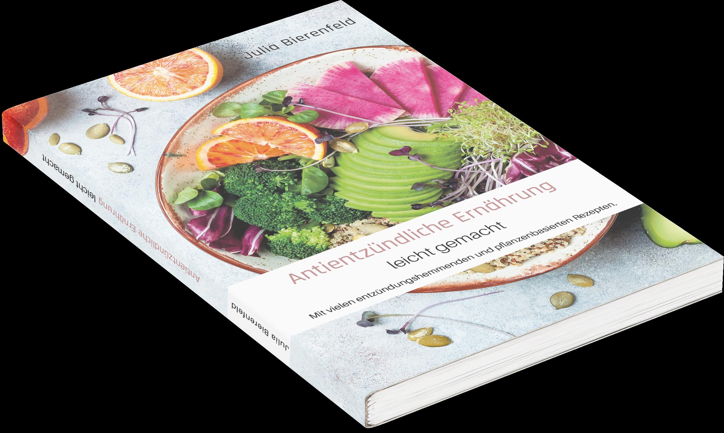 jb health concepts, 978-3-00-068038-0 Rezepte, Antientzündliche Ernährung leicht gemacht, Ratgeber,